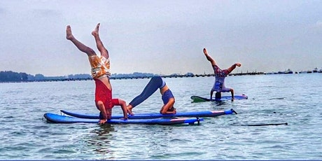 Beach and SUP yoga tickets