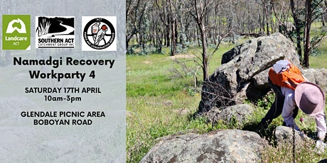 Namadgi Recovery Workparty 4 tickets