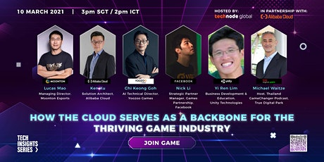 Tech Insights: How the cloud serves as a backbone for the gaming industry tickets
