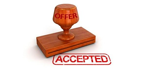 How To Get Your Offer Accepted tickets