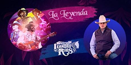 La Leyenda -  Leandro Rios en Rio Bravo Arlington tickets