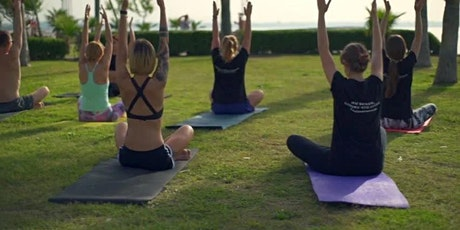 Free morning yoga class in  Labrador harley park near the beach tickets