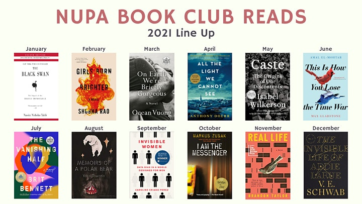 NUPA Book Club image