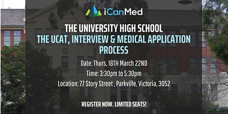 2-Hr iCanMed Workshop: UCAT, interview & medical admissions process tickets