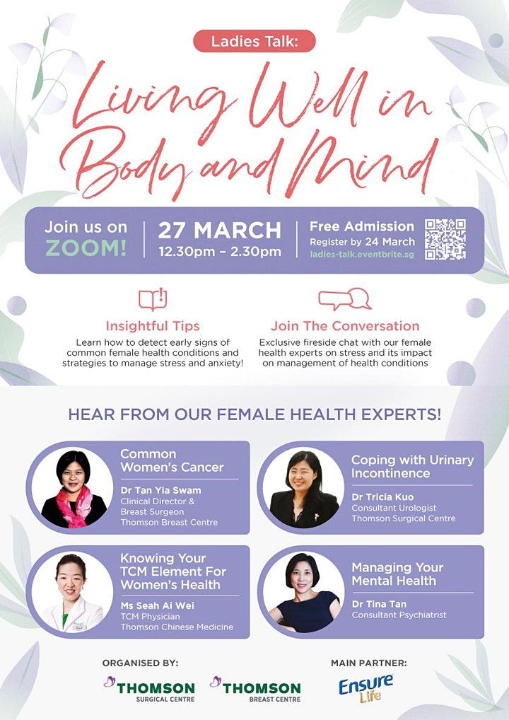 Ladies Talk: Living Well in Body and Mind image