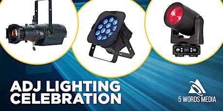ADJ Lighting Celebration - DIGITAL EVENT TIME SLOT tickets