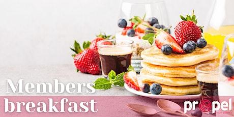 Members Breakfast tickets
