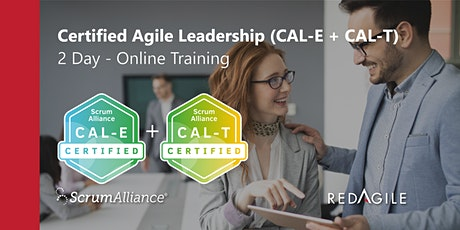 CERTIFIED AGILE LEADERSHIP (CAL-E & T) 27-28 APRIL Australian Course Online tickets