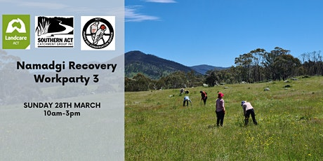 Namadgi Recovery Workparty 3 tickets