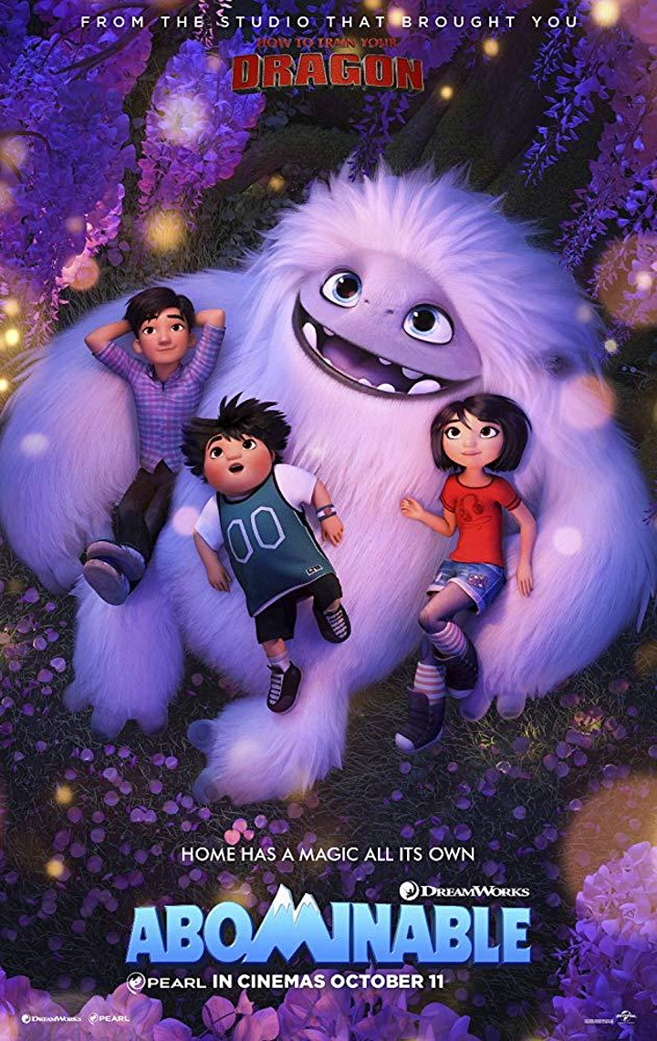 Family movie - Abominable image
