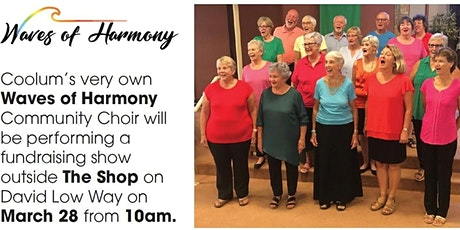 """Waves of Harmony"" Community Choir Sings tickets"