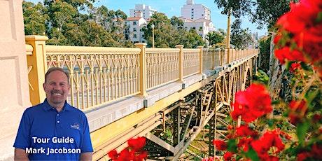 Explore San Diego's Seven Bridges: Park Blvd. to Quince St. (Virtual Tour) tickets