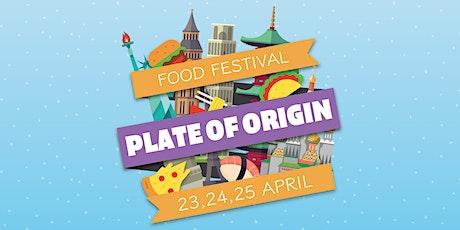 PLATE OF ORIGIN FOOD FESTIVAL tickets