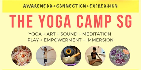 The Yoga Camp for Kids (7-9 yrs old) tickets