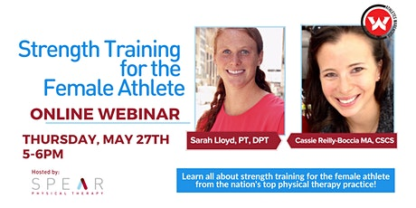 Strength Training for the Female Athlete Online Webinar tickets