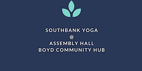 Wednesday Yoga @ Boyd Community Hub (Free/Donation) tickets
