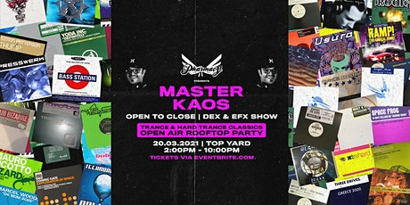 Pharmacy Pres. Master KAOS [Open to Close Rooftop Party] tickets