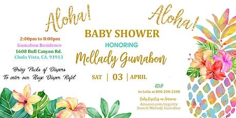 Mellady's Baby Shower tickets
