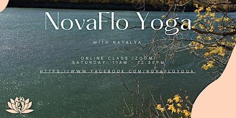 NovaFlo Yoga - Saturday sessions tickets