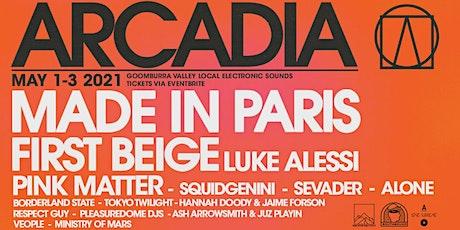 Arcadia V tickets
