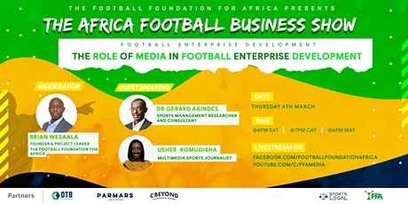 The Africa Football Business Show EP 15 tickets