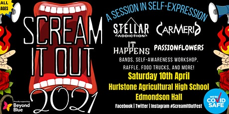 Scream It Out 2021 tickets