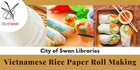 Vietnamese Rice Paper Roll Making (Midland) tickets