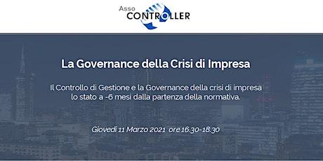 La governance della Crisi di Impresa a -6 mesi dall'avvio della normativa biglietti