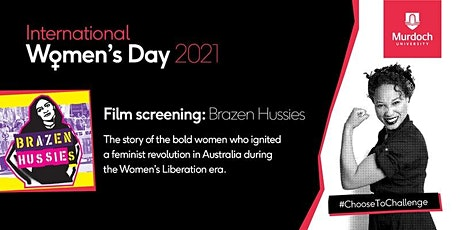 2021 International Women's Day Event - 11 Mar 12pm-2pm film screening tickets