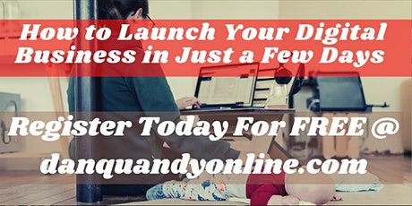 How To Launch Your Online Business Without Wasting Time and Money tickets