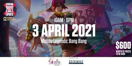Sengkang 2021 Esports - Mobile Legends Bang Bang tickets