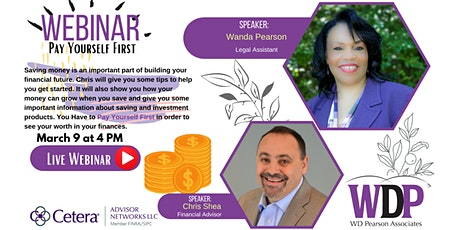 Pay Yourself First with Chris Shea and Wanda Pearson tickets