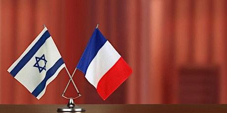 Les relations complexes entre Israel et la France tickets