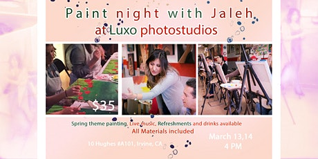 Paint night with live music and refreshments - covid style! tickets
