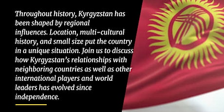 International Relations in Kyrgyzstan tickets