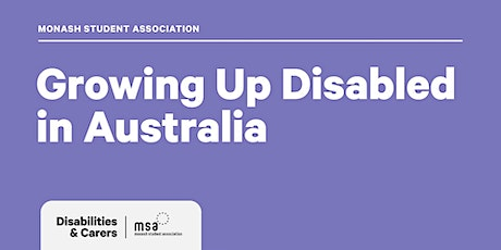 Growing Up Disabled in Australia | Panel tickets