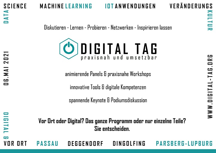 Digital Tag 2021 - Panel: Machine Learning: Bild