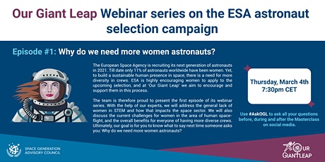 OGL Masterclass Series on the European Astronaut selection campaign tickets