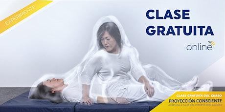Clase Gratuita - Curso Proyeción Consciente entradas