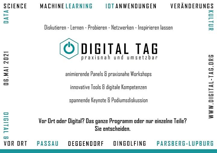 Digital Tag 2021 -  Panel: IoT Anwendungen: Bild
