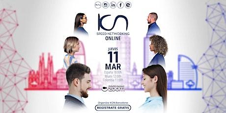 KCN Barcelona - Speed Networking Online  11 Mar entradas