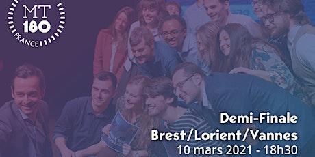 Ma thèse en 180s - Demi-Finale Brest/Lorient/Vannes billets