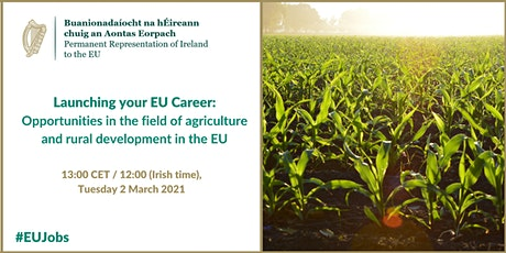 Opportunities in the field of agriculture and rural development in the EU tickets