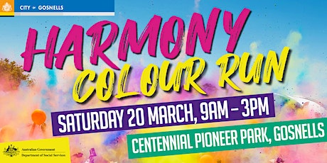 Harmony Colour Run tickets