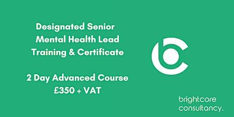 Designated Senior Mental Health Lead Training & Certificate: Birmingham tickets
