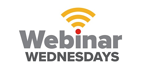 Webinar Wednesday tickets