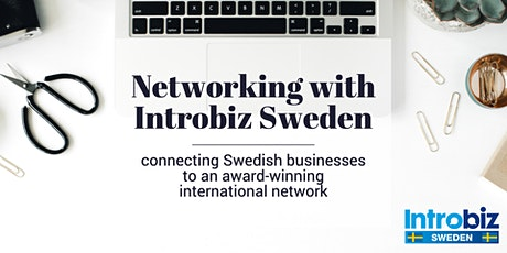Networking with Introbiz Sweden tickets