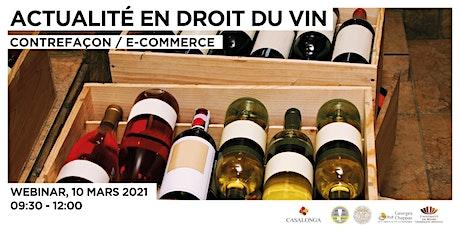 Point d'actualité en droit du vin - Reims billets