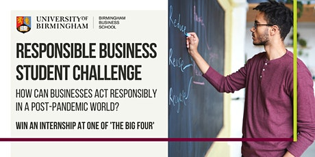 Responsible Business Student Challenge Launch Event tickets