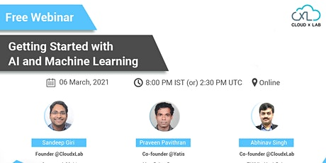 Free Webinar on Getting Started with AI and Machine Learning entradas